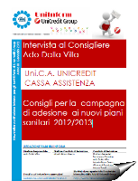 Uni.C.A.: Intervista al consigliere Ado Dalla Villa