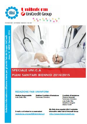 Speciale UniInform  Piani Sanitari Uni.C.A. 2014-2015