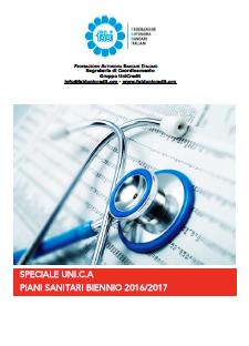 Speciale Uni.C.A. – Rinnovo Piani Sanitari Biennio 2016 – 2017