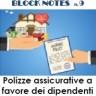 Block Notes n. 9 - Ottobre 2018 - Polizze assicurative - evidenza
